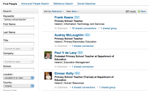 How to Search LinkedIn from Google