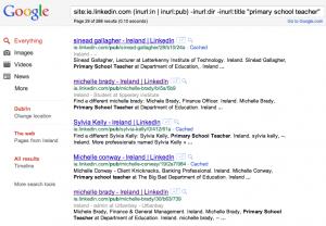 Boolean Strings LinkedIn Search