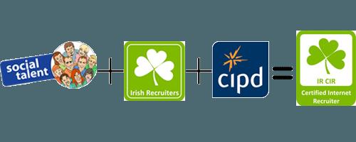 Social Talent plus Irish Recruiters plus CIPD equals Certified Internet Recruiter