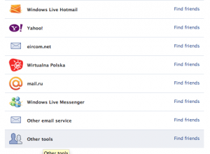 Facebook Friend Finder: find profiles on Facebook