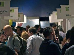 CareerZoo Attendees and Stands Low Res