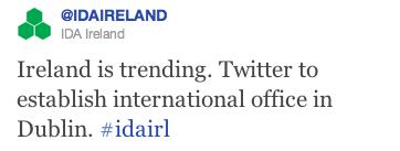 IDA Ireland on Twitter