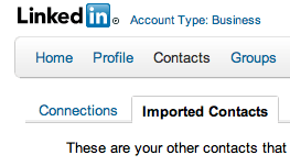 Add New Contacts on LinkedIn