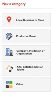 What kind of company are you? Google+ Pages