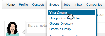 How To: Create a Poll in a LinkedIn Group - Step 1