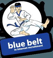 Social-Talent-Blue-Belt-in-Internet-Recruitment-Logo-Training