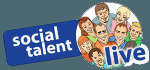 Social Talent Live Logo