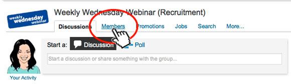 LinkedIn-Groups-Menu-Bar