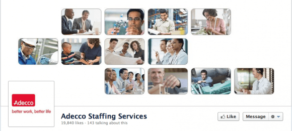 Adecco Staffing Timeline Cover