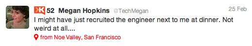 TechMegan on Twitter