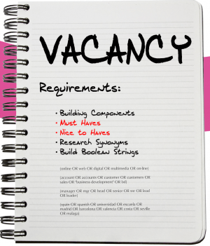 Building your Vacancy Requirements