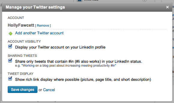 Twitter-Settings-LinkedIn