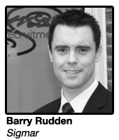 Barry Rudden, Associate Director Sigmar
