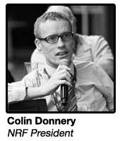 Colin Donnery, President at NRF & MD of FRS Recruitment
