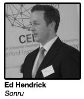 Ed Hendrick, Founder Sonru