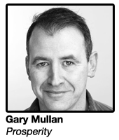 Gary Mullan, Owner & Co-Founder Prosperity