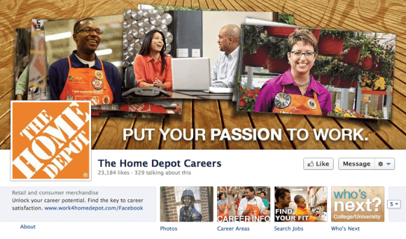 5 Great Facebook Timeline Covers Of Corporate Careers Pages