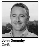 John Dennehy, CEO Zartis