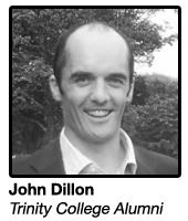 John Dillon, Alumni Director at Trinity Foundation, TCD