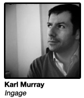 Karl Murray, CEO Ingage