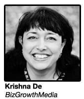 Krishna De, BizGrowthMedia