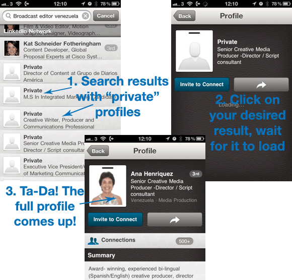 LinkedIn-Private-Profiles-Mobile-Images