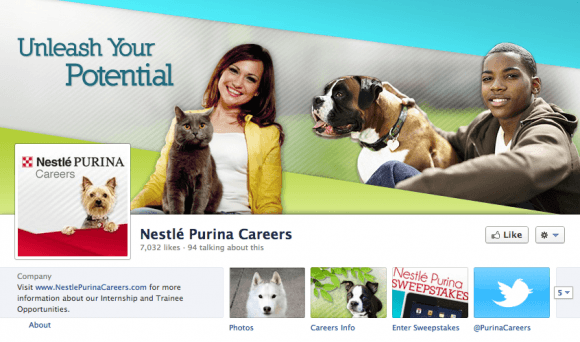 Nestle Purina Careers FB Page