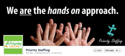 Priority Staffing on Facebook