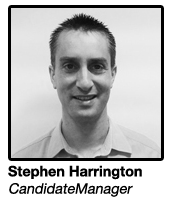 Stephen Harrington, Strategic Account Manager CandidateManager
