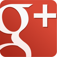 Google Plus Square Icon (Red)