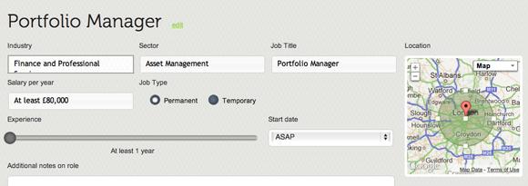 Adding a Job to JobVidi