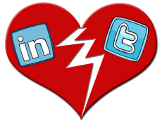 Twitter and LinkedIn have broken up