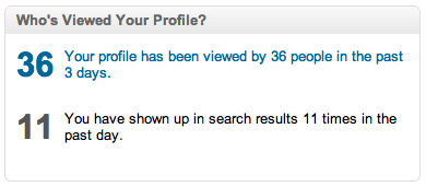 Who's Viewed My Profile - LinkedIn Profile Stats