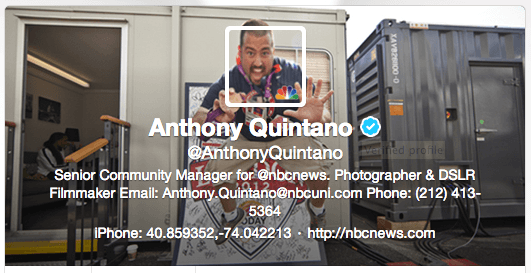 Anthony Quintano Twitter cover image