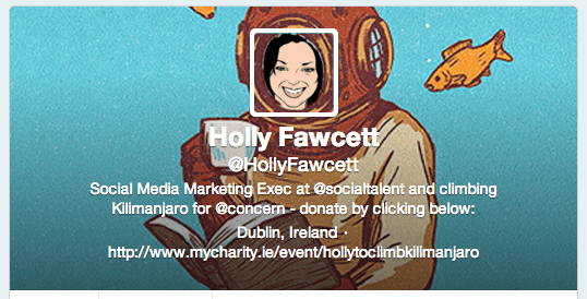 Holly Fawcett's Twitter cover image