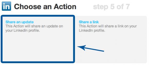 LinkedIn-Choose-An-Action-IFTTT