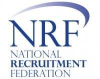 NRF logo portrait