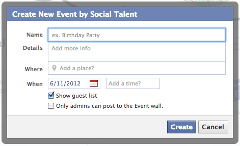 Creating Facebook Events for Business