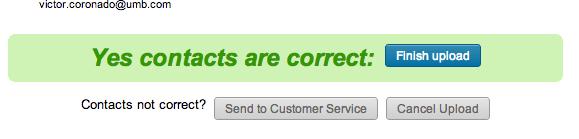 LinkedIn Contacts Uploader