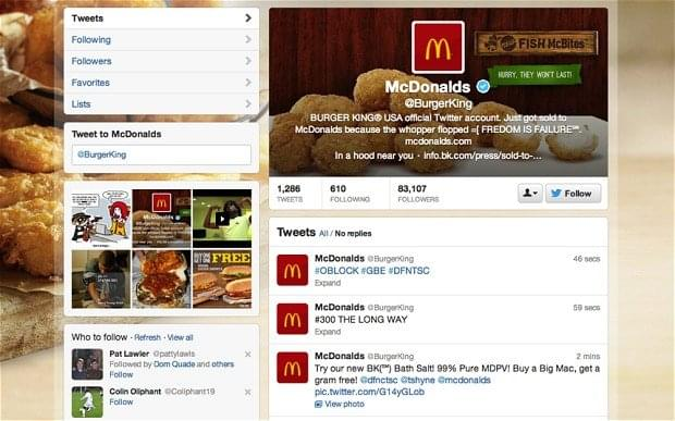 Burger King Hacked