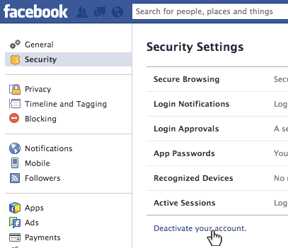 Deactivate-your-Facebook-Account