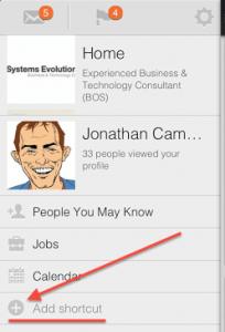 LinkedIn New Mobile App Customisable Tabs