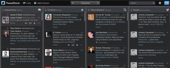 Screen Shot - Tweetdeck