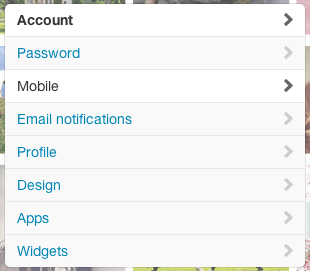 Screen Shot - Twitter Sidebar