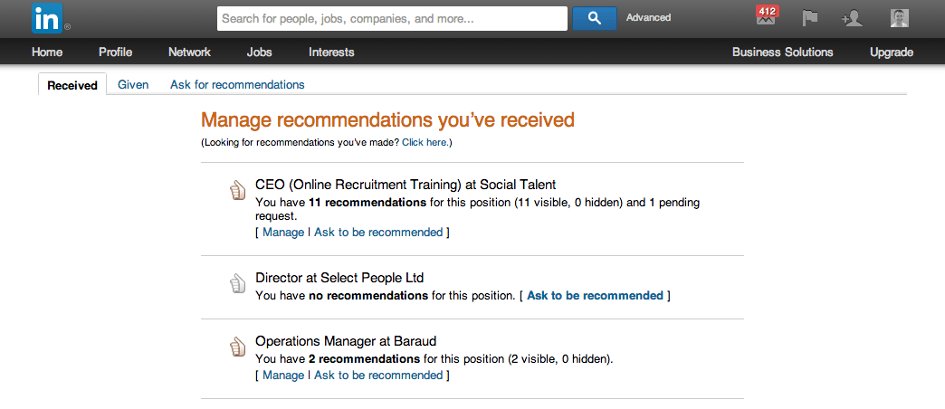 LinkedIn Recommendations | Social Talent