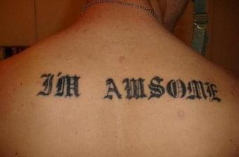 Mispelled Tattoo | Check your CV for spelling mistakes and grammatical errors