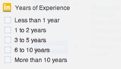 LinkedIn-Advanced-Search-Years-of-Experience