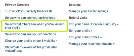 Select-what-others-see-when-you've-viewed-their-profile