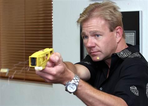 Stun Gun Tester   Worst Jobs EVER