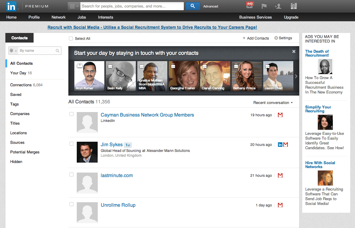 LinkedIn Contacts - Eligible